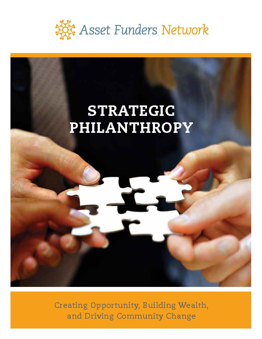 The cover of the white paper produced by Janet Boguslaw and Elizabeth Paulhus at Brandeis University's Institute on Assets and Social Policy.