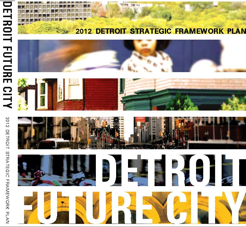 Detroit Future City  includes recommendations and action steps and anticipates revitalization unfolding over several decades.