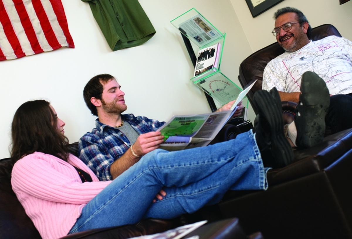 The University of Maine Augusta provides a special lounge for veterans.