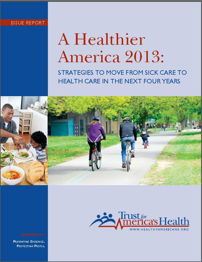 The report proposes reorienting the health care system to focus on keeping people well instead of treating sickness.