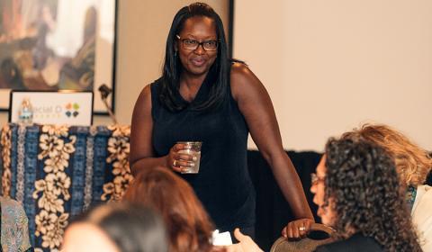Jalonne White-Newsome, senior program officer with Kresge's Environmental Program