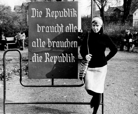 Leni Sinclair in East Germany, 1963