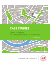 An image of the cover of the Climate Adaptation Case Studies