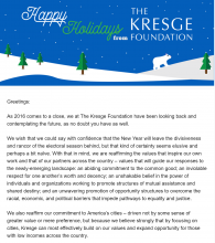 News from The Kresge Foundation, Vol. 1 Issue 20