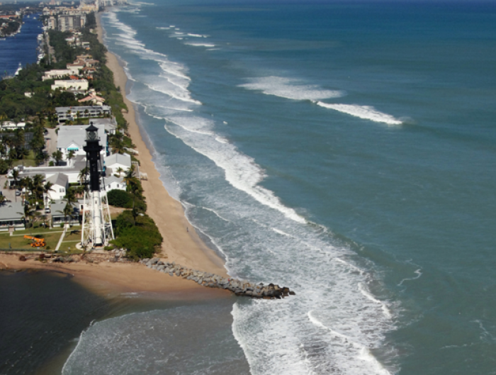 southeast Florida, Ocean