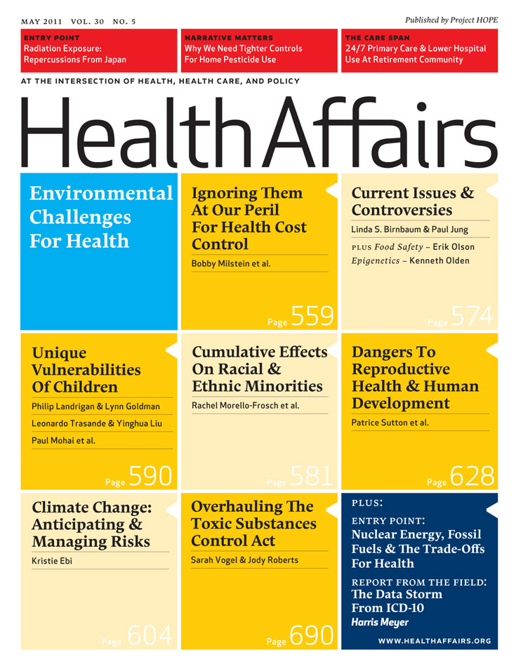 special issue of health affairs journal puts spotlight on the  on may  a special issue of the journal health affairs will feature a wide  range of research and essays in the realm of environmental health japanese essay paper also high school personal statement essay examples thesis for narrative essay