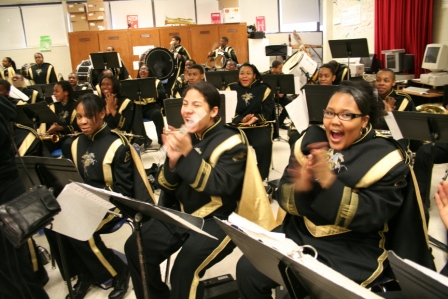 Martin Luther King Jr. Senior High School Symphonic and Marching Band