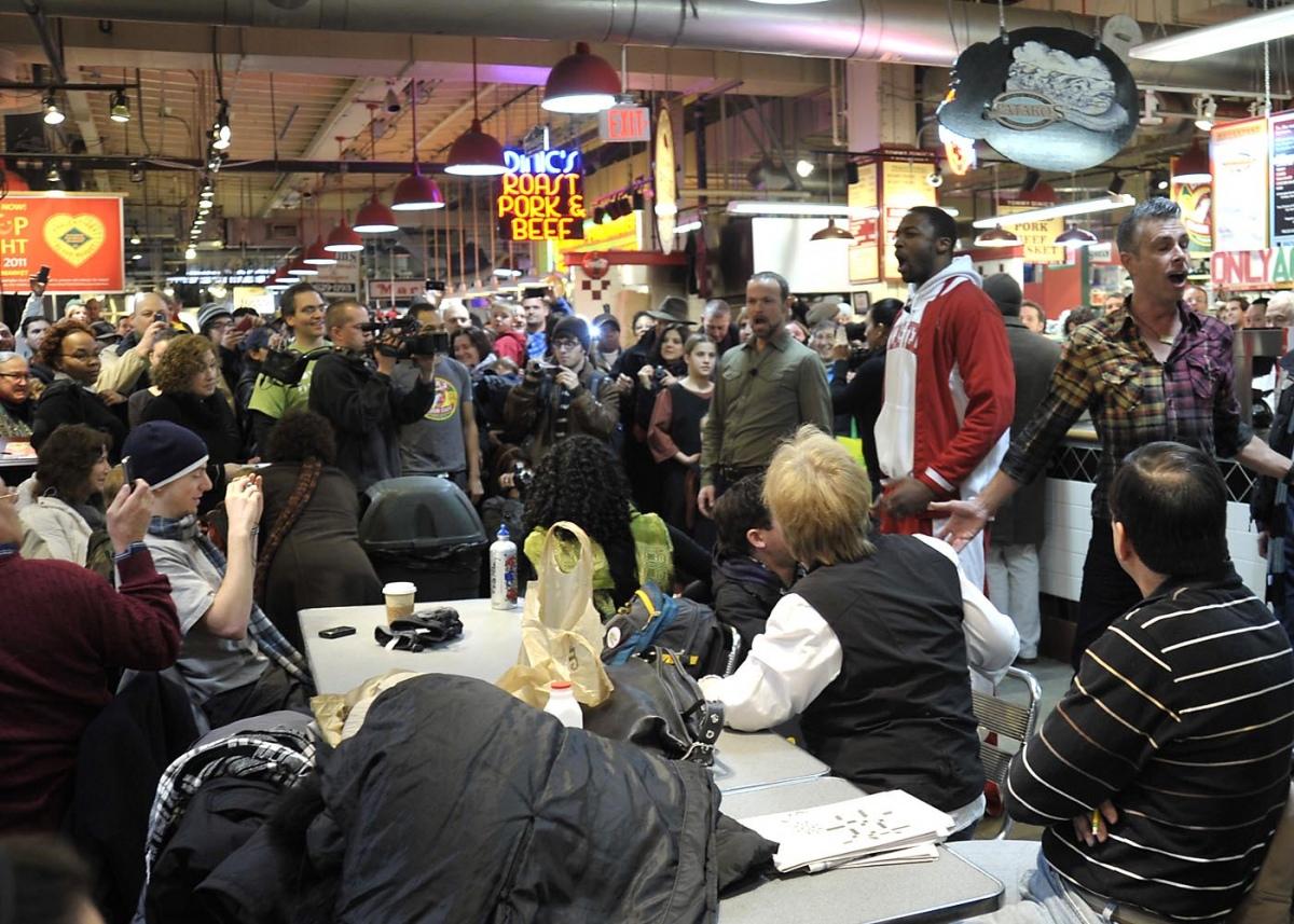 Pop-Up Opera finds an appreciative crowd an an eatery.