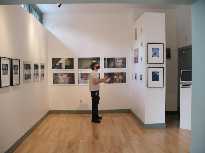 Project Space Gallery in AS220's Dreyfus Building.
