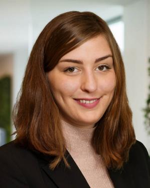 Julie Burlingame, program team assistant, Social Investment Practice