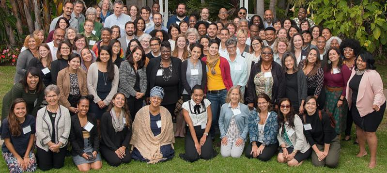 Attendees at the 2018 Climate Resilience and Urban Opportunity grantee convening