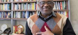 Image of Dr. Loyiso Nongxa, featured in Kresge Foundation Inyathelo Stories