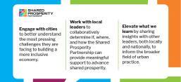 Shared Prosperity Partnership Three Goals