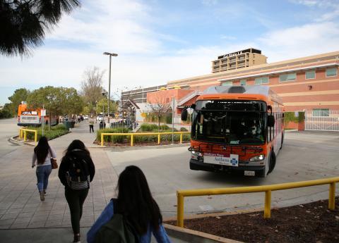 CSU Los Angeles Campus Transit Hub