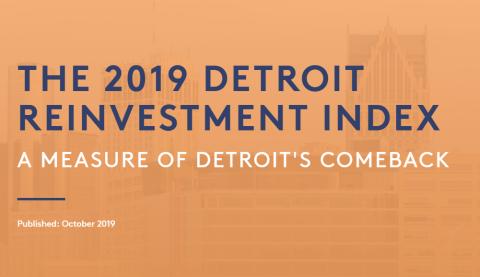 Detroit Reinvestment Index