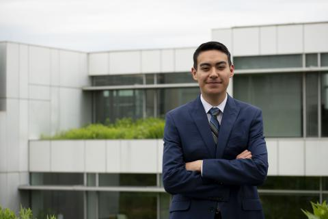 Edgar Aguado, Investment and Social Investments Intern, The Kresge Foundation