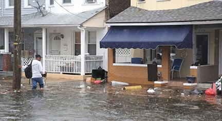 Under-resourced neighborhoods are frequently located in areas with significant climate change-related risks such as flooding.