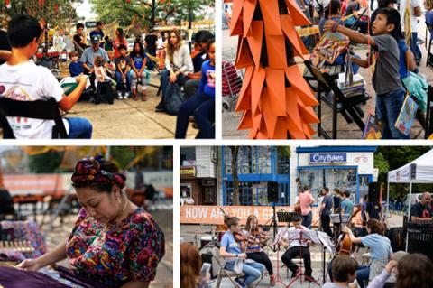 Images featured in one of the Creative placemaking reports