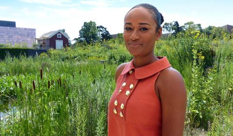 Gabrielle Horton, graduate fellow with The Kresge Foundation's American Cities Practice