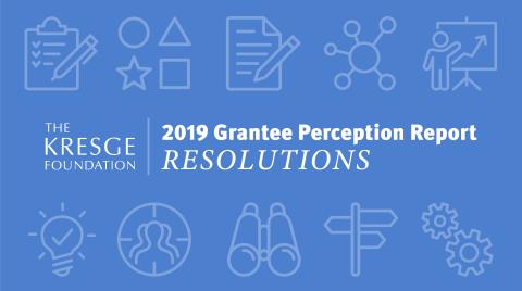 2019 Grantee Perception Report graphic