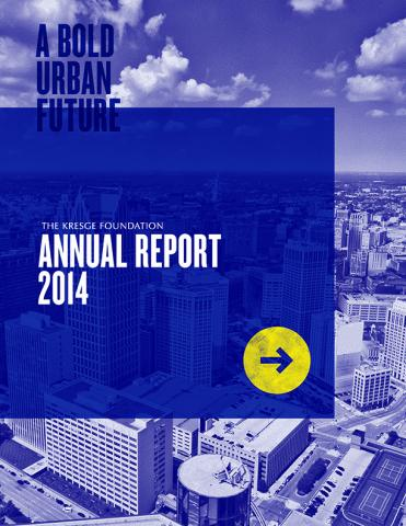 Kresge 2014 Annual Report Cover