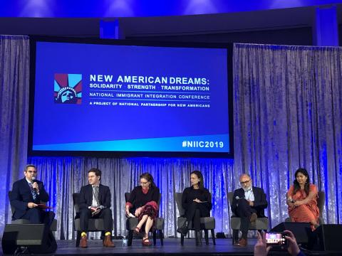 "The 2019 National Immigrant Integration Conference plenary session ""Winning the Future: From Hate to Hope"""