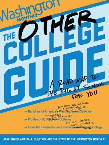 """""""The Other College Guide"""" cover"""