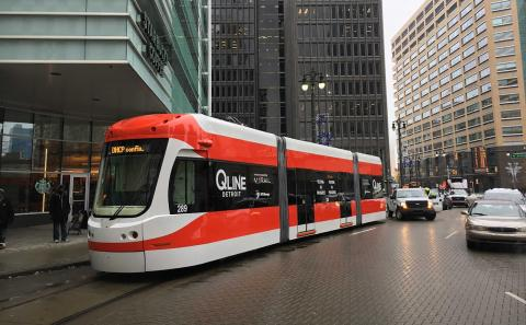 M-1 Rail's QLINE being tested