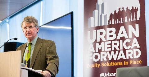 Rip Rapson, Kresge Foundation President and CEO delivers remarks at Urban America Forward Equity Solutions in Place conference