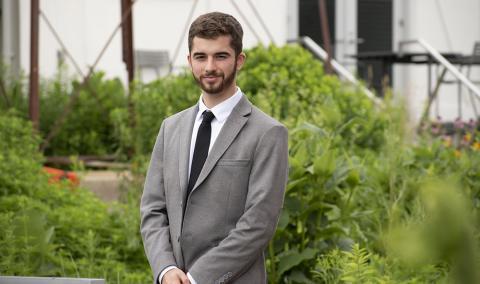 Samuel Coons, summer 2018 intern, Kresge Arts & Culture Program