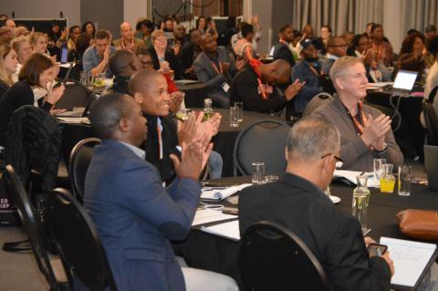Attendees gather at the 2019 Siyaphumelela Conference