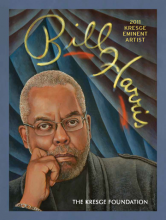 "Cover of ""Bill Harris: 2011 Kresge Eminent Artist"""