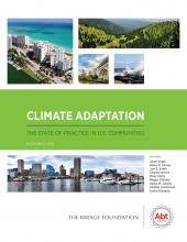 Cover Climate Adaption report