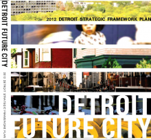 Cover of the Detroit Future City Strategic Framework