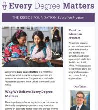 Education newsletter February 2018