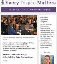 Education newsletter July 2019