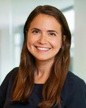 A profile image of The Kresge Foundation Environment Program Climate Change Fellow Rebecca Guerreiro