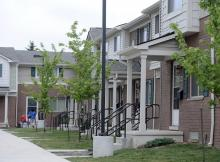 an image from The Kresge Foundation of an affordable housing complex