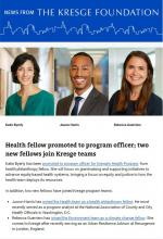 This week's News From The Kresge Foundation headlines