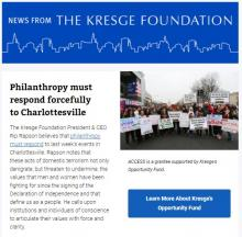 News From The Kresge Foundation