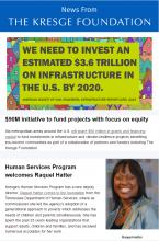 Thumbnail image of Kresge newsletter 2-16-2017