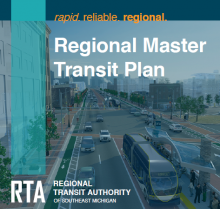 This is an image of RTA of Michigan's Regional Transit Plan