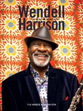 Cover of monograph about 2018 Kresge Eminent Artist Wendell Harrison