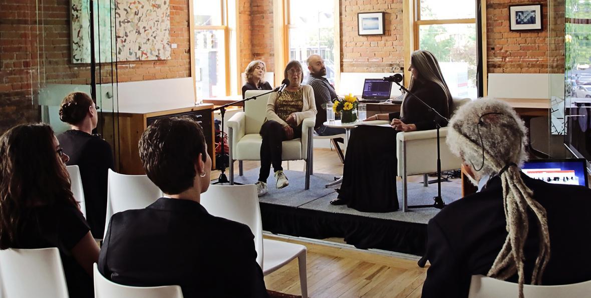 WDET host Ann Delisi interviews 2016 Kresge Eminent Artist Leni Sinclair.