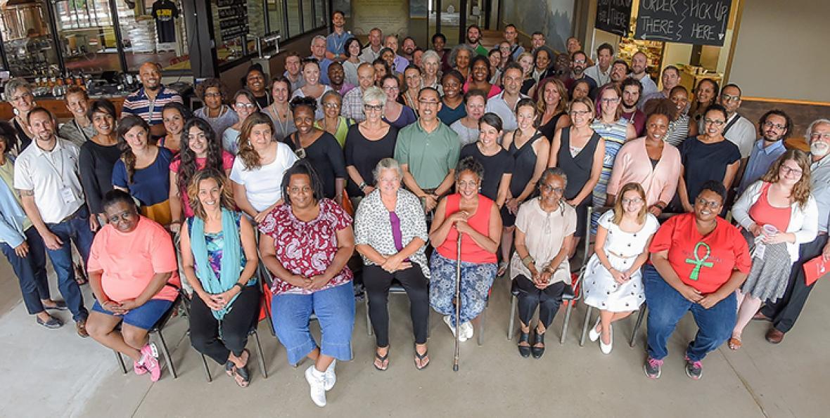 Attendees at Kresge's FreshLo convening