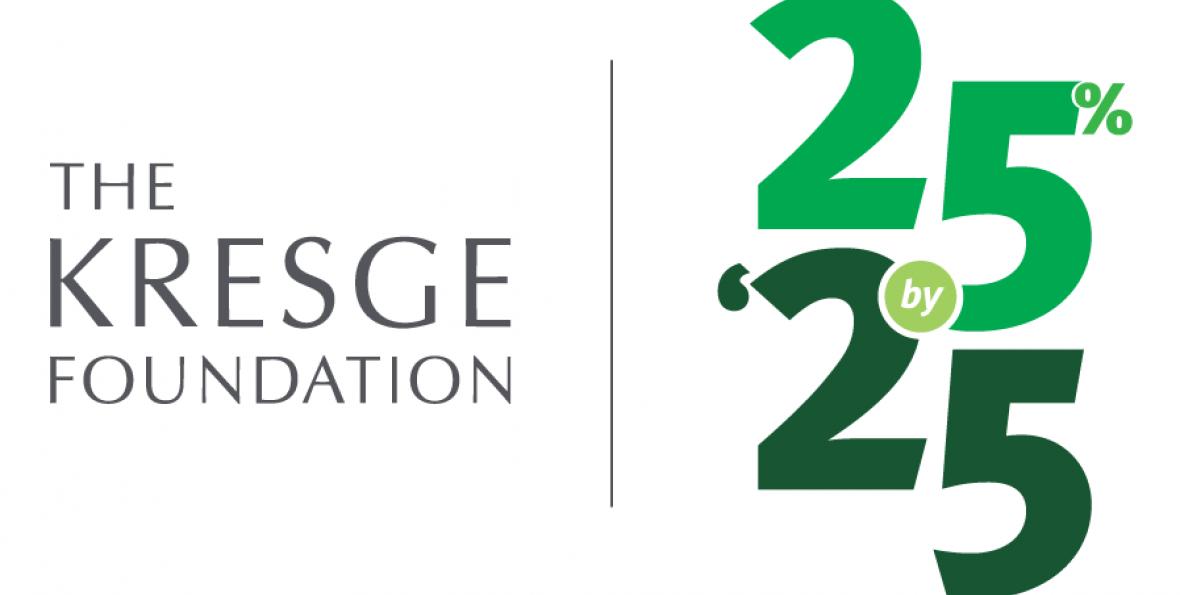 25% by '25 logo