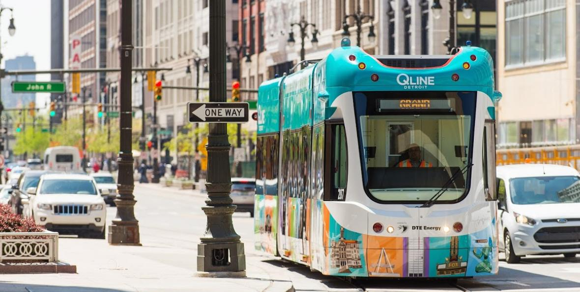 The QLINE Detroit Grand opening