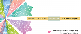 Cover of Kresge Foundation's 2017 Annual Report