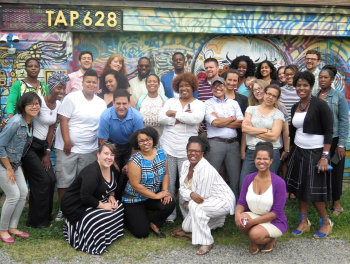 Detroit Revitalization Fellows on outing