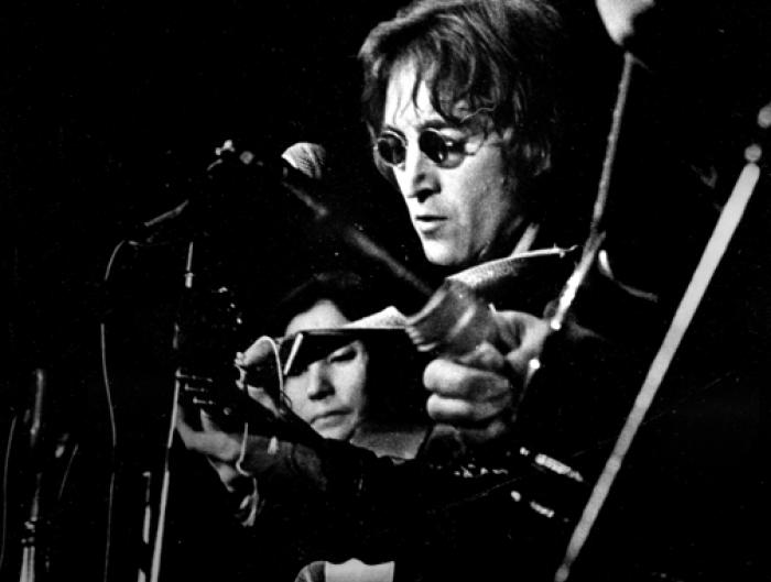 John Lennon and Yoko Ono, 1971